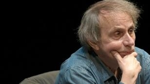 French author Michel Houellebecq has married for the third time