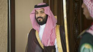 Le nouveau prince héritier saoudien Mohammed ben Salmane, le 11 avril 2017.