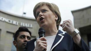 Nicola Sturgeon, Première ministre écossaise.