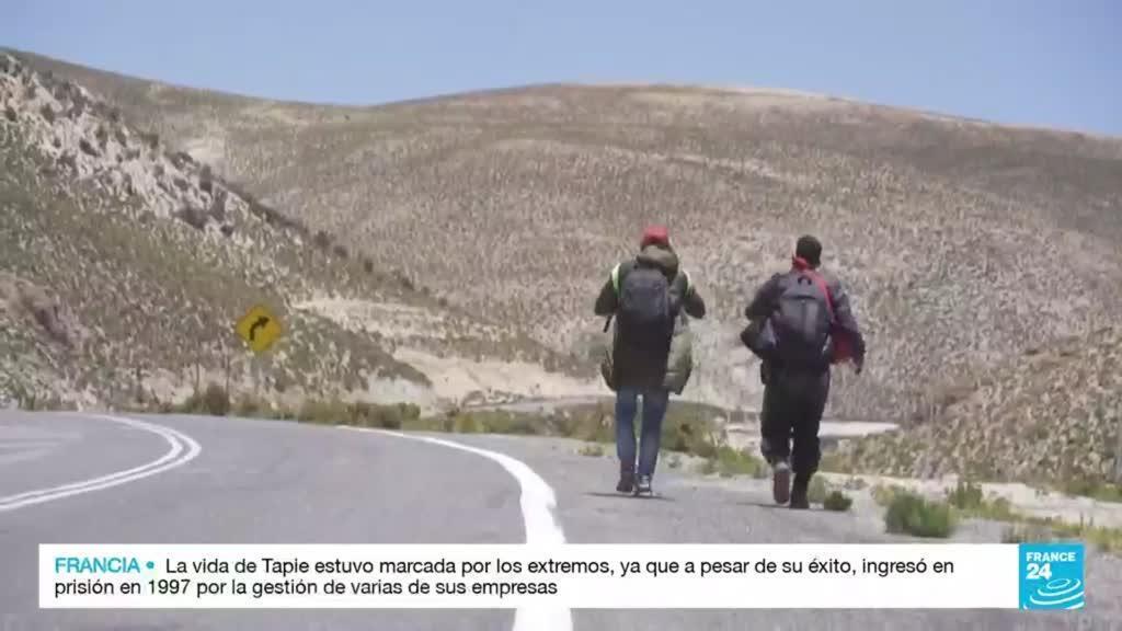 2021-10-03 14:40 Chile: inmigrantes enfrentan un ambiente hostil por la xenofobia que se vive en el país