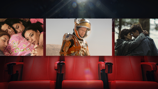 "De gauche à droite : ""Much Loved"", ""Seul sur Mars"", ""The Lobster"""