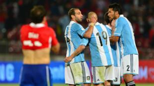 La dernière fois que le Chili et l'Argentine se sont affrontés, en octobre 2012, l'Albiceleste s'est imposée (1-2).