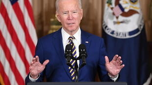 US President Joe Biden speaks about foreign policy at the State Department in Washington, DC, on February 4, 2021
