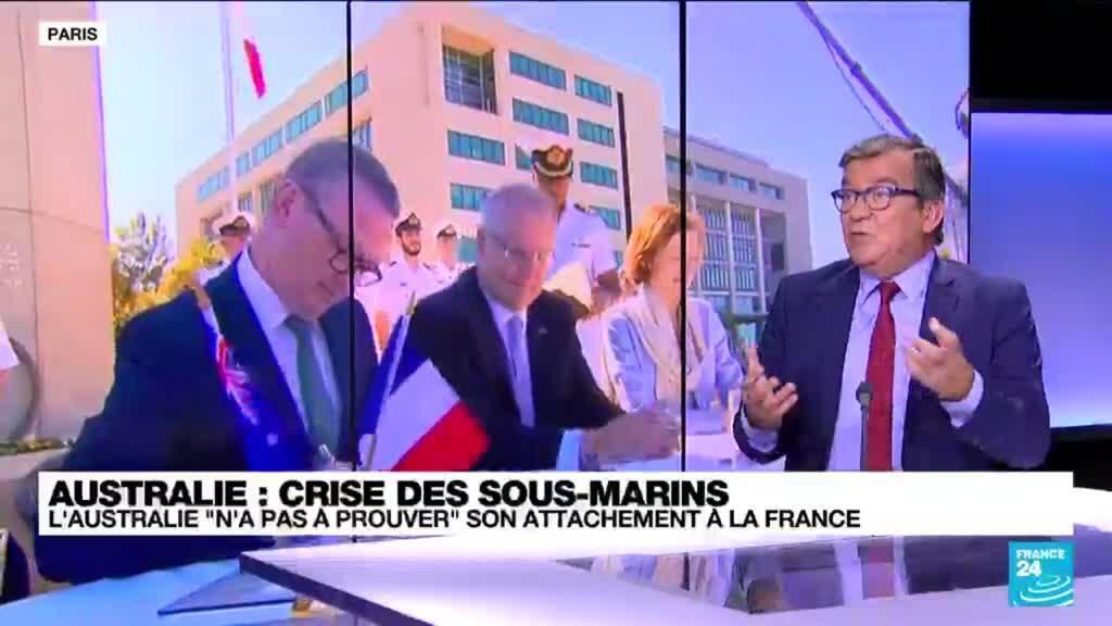 """2021-09-20 13:35 L'Australie """"n'a pas à prouver"""" son attachement à la France"""