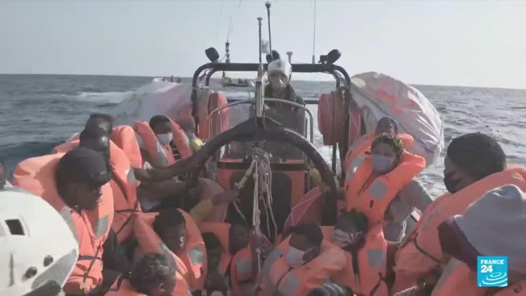 2021-08-02 10:05 Migrants en Méditerranée : plus de 700 personnes ont été secourues