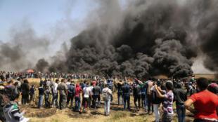 """Le bilan humain de la manifestation baptisée """"la marche du retour"""" s'est alourdi samedi 7 avril, alors que deux Gazaouis sont morts de leurs blessures."""