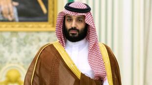 Mohammed ben Salmane, le prince héritier d'Arabie saoudite (ici en avril 2019), met en cause l'Iran dans l'attaque des pétroliers dans le golfe d'Oman.