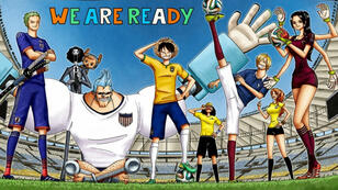 """Quand la folie """"One Piece"""" rassemble les supporters de la Coupe du Monde 2018."""