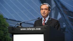 L'ex-PDG de Lafarge Bruno Lafont, le 7 mai 2015, à Paris.