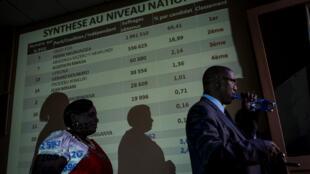 Le principal opposant burundais, Agathon Rwasa, le 16 mars 2015 à Bujumbura.