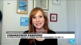 2020-12-15 15:01 EU regulators move up Pfizer vaccine assessment to Dec. 21