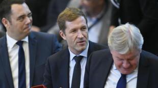Le ministre-président de Wallonie, Philippe Magnette, le 28 octobre 2016, au Parlement wallon.
