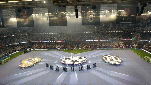 الحفل الرسمي لنهائي دوري الأبطال بين ريال مدريد ويوفنتوس