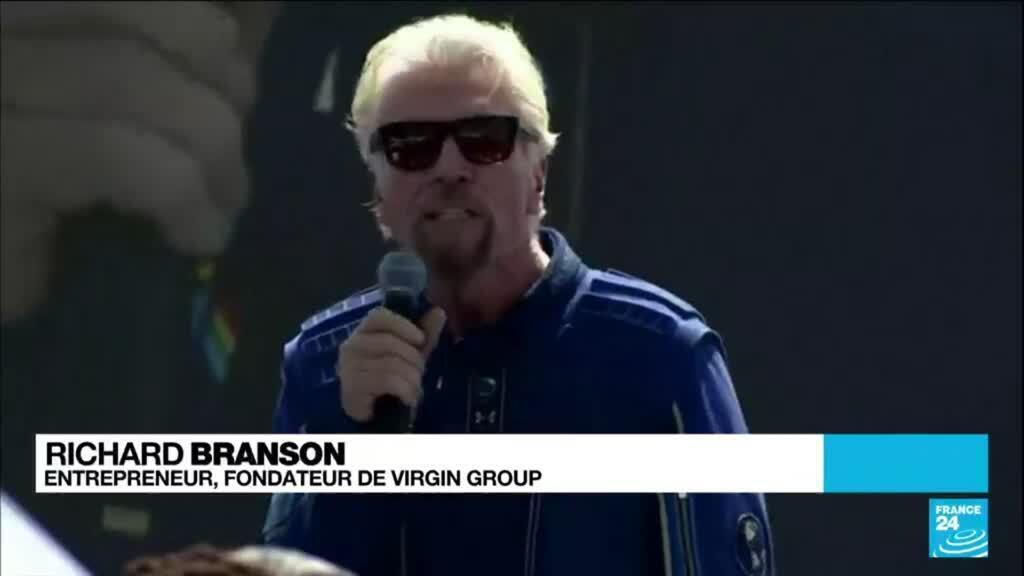 2021-07-11 21:32 Le milliardaire Richard Branson réussit son pari spatial