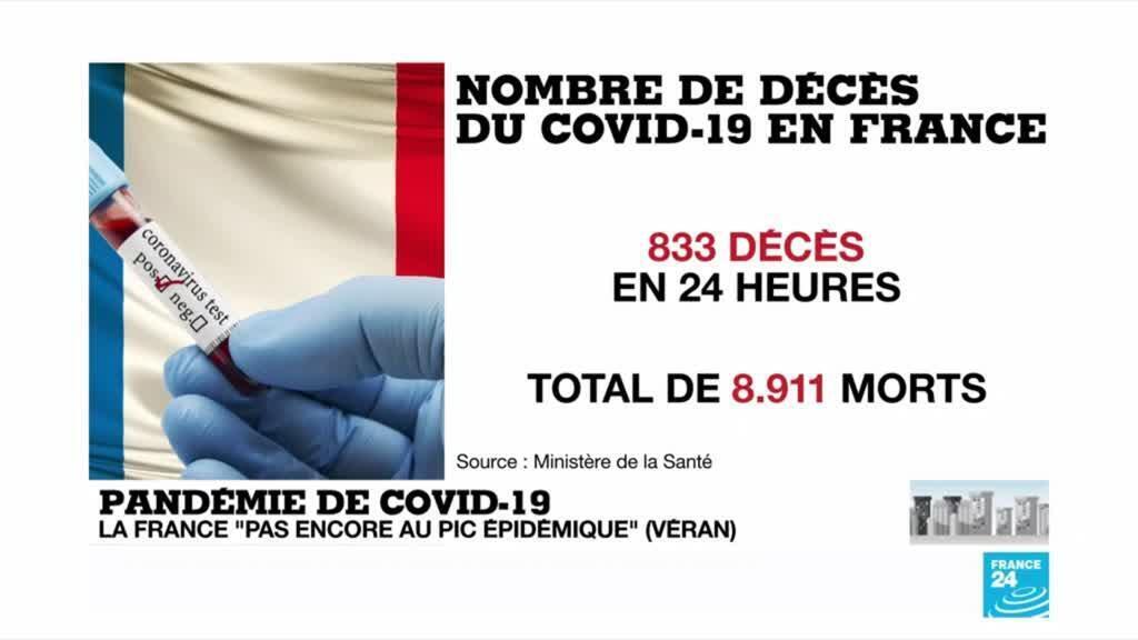 2020-04-07 14:04 Pandémie de Covid-19 : Les décès repartent à la hausse en Espagne, en Italie et en France