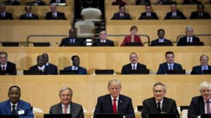 L'entrée en vigueur de la charte de l'ONU date de 1945.