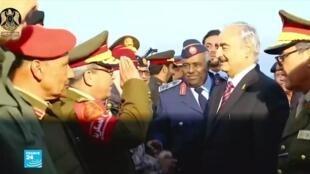 القائد العام للقوات المسلحة في شرق ليبيا المشير خليفة حفتر