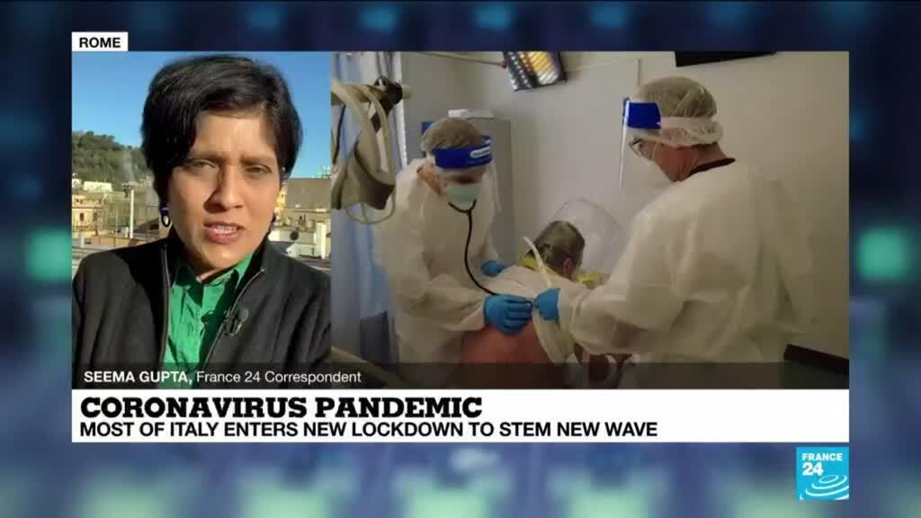 2021-03-15 08:07 Coronavirus pandemic: Most of Italy enters new lockdown to stem new wave