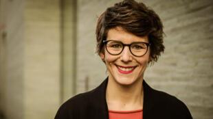 La journaliste Ann-Kathrin Stracke, 37 ans travaille pour la télévision publique allemande WDRAnn-Kathrin Stracke