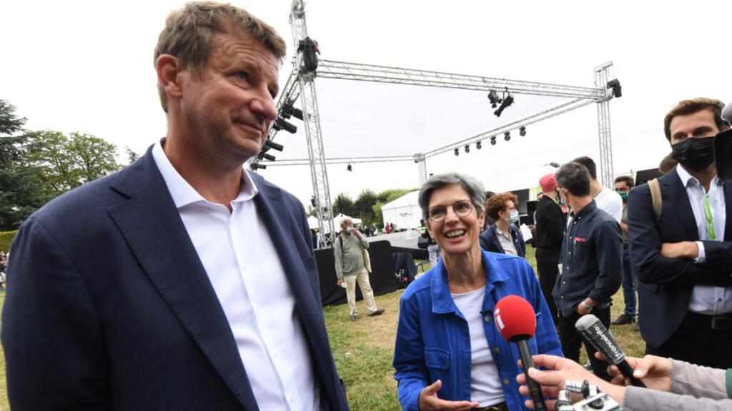 Primaire écologiste : Yannick Jadot et Sandrine Rousseau qualifiés pour le second tour