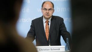Le ministre de l'Agriculture allemand et membre du parti chrétien-social CSU, Christian Schmidt.
