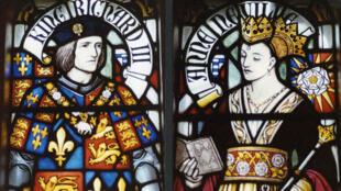 Le roi Richard III et la reine Anne