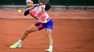 The wrong trousers:  Grigor Dimitrov