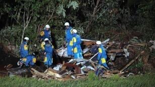 Les secours sont à pied d'œuvre pour retrouver des survivants.