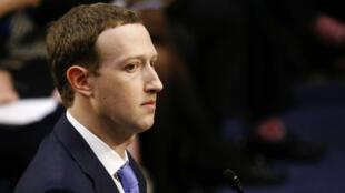 El CEO Fundador de Facebook, Mark Zuckerberg, se presentó ante el Senado de Estados Unidos. Abril 10 de 2018.