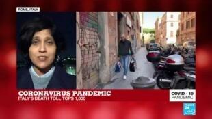 2020-03-12 19:02 Coronavirus Pandemic: COVID19 death toll tops 1,000 in Italy