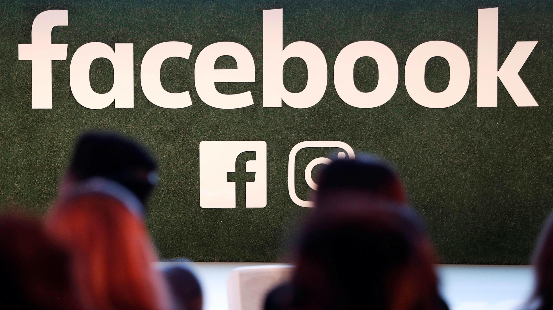El logo de Facebook. Archivo.