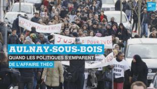 L'interpellation violente de Théo, 22 ans, à Aulnay-sous-Bois, a suscité de nombreuses réactions et manifestations.