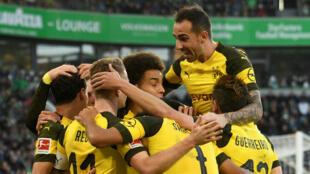 Le Borussia Dortmund caracole en tête de la Bundesliga avec quatre points d'avance sur le Bayern.