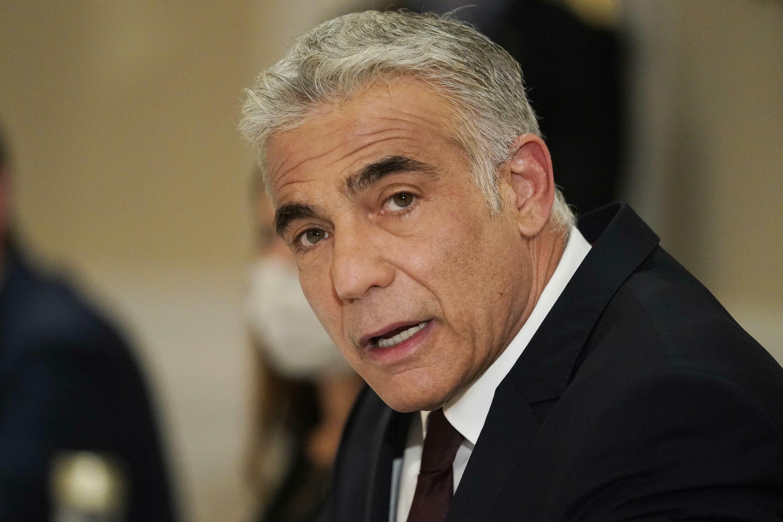 Le ministre israélien des Affaires étrangères Yair Lapid, à Rome, le 27 juin 2021