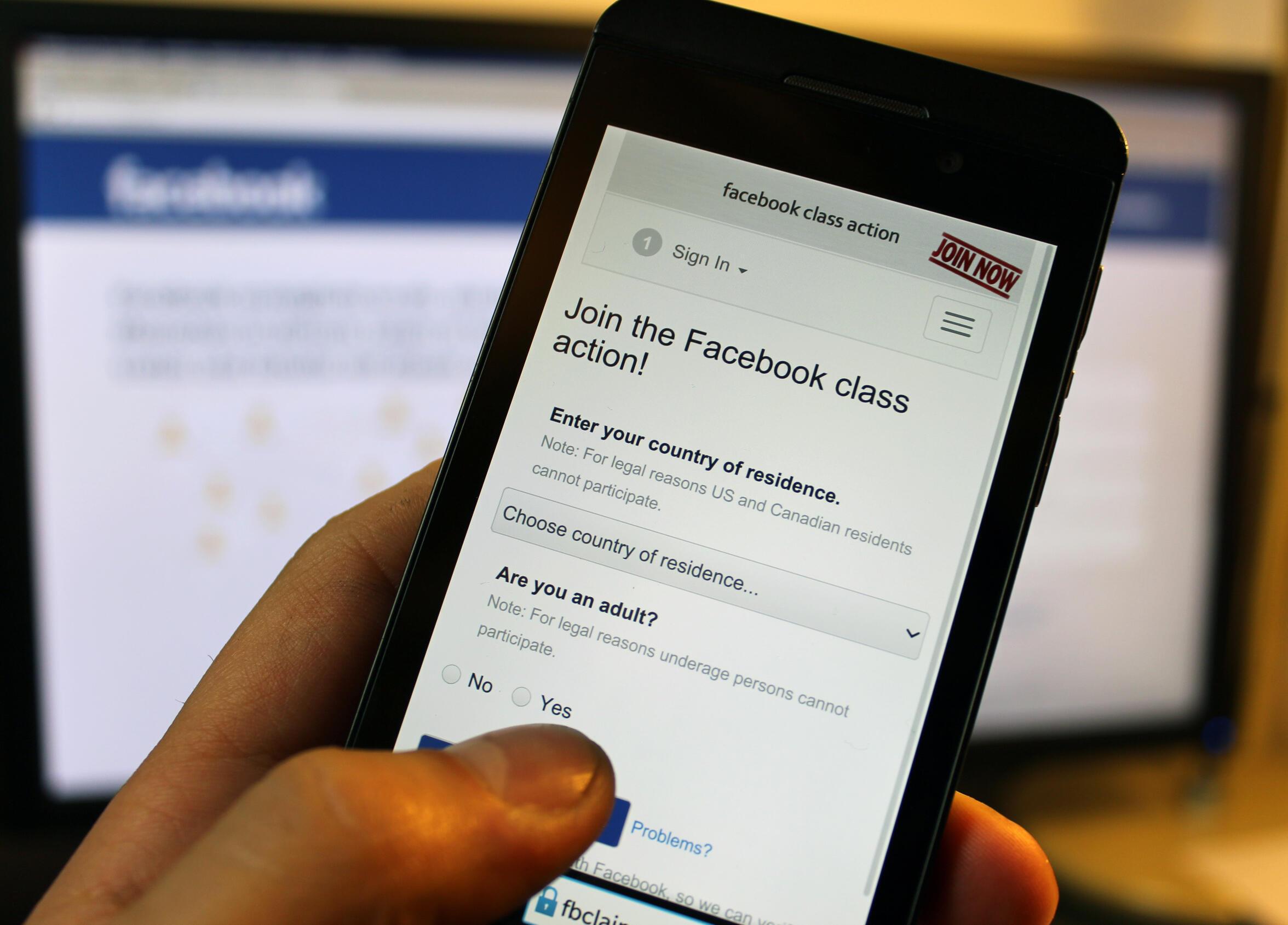 Une application pour rejoindre l'action collective contre Facebook a été créée.