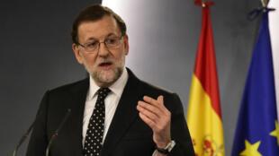 Mariano Rajoy, le 22 janvier 2016, à Madrid.