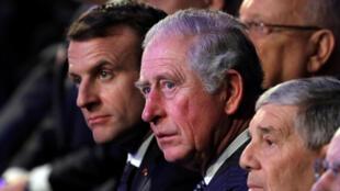 Emmanuel Macron Prince Charles