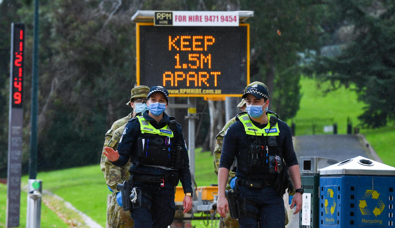 Un brote en Melbourne, la segunda ciudad más grande de Australia, ha registrado cientos de casos nuevos diariamente en las últimas semanas.