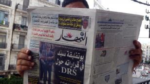La presse algérienne titre sur le départ du général Toufik