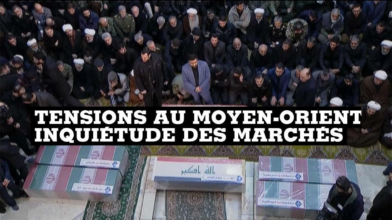 Les obsèques de Qassem Soleimani, ce lundi à Téhéran