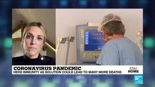 """2020-04-01 20:11 Coronavirus pandemic: What exactly is the """"herd immunity"""" strategy put in place in Brazil and Sweden?"""
