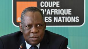 Issa Hayatou, le président de la Confédération africaine de football.