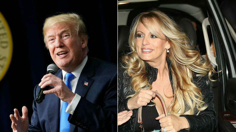 Donald Trump niega haber tenido relaciones sexuales con la actriz porno Stormy Daniels en 2006