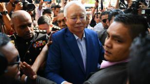 L'ex-Premier ministre malaisien, Najib Razak, le 22 mai 2018.