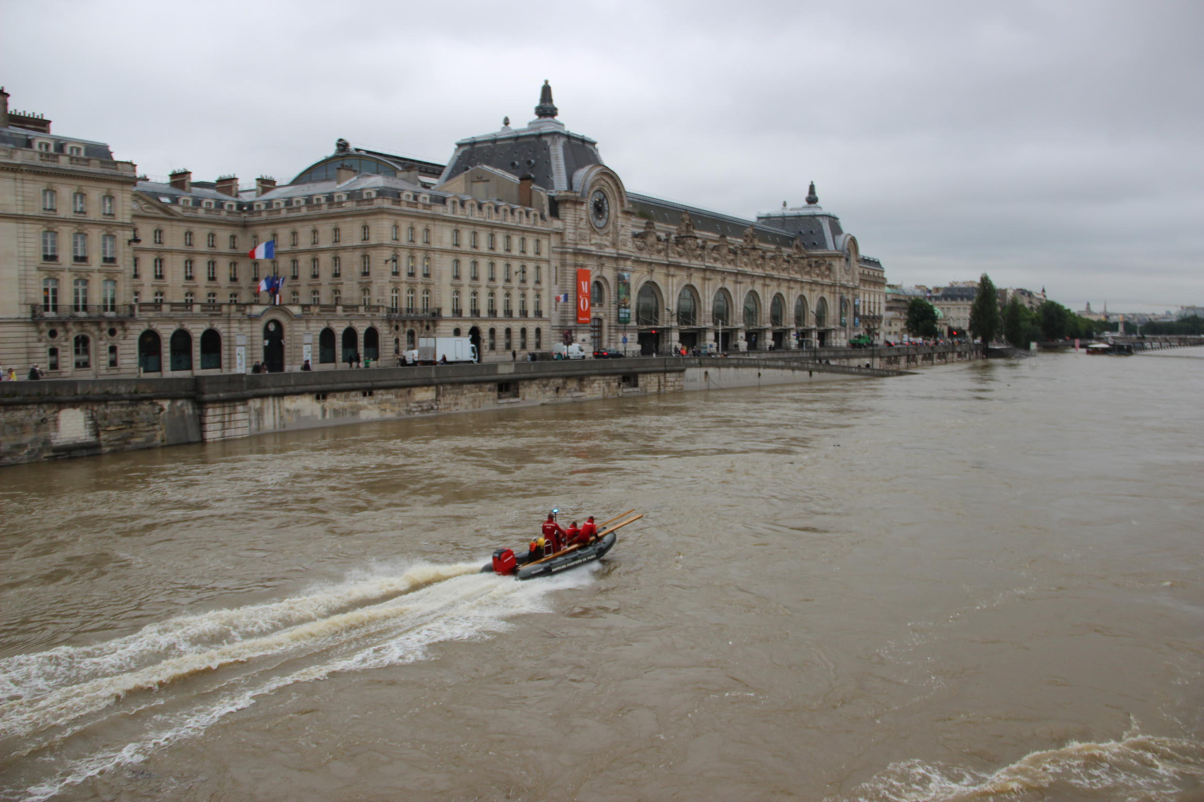 The Louvre and Orsay museums, home to priceless works of art and historical artefacts, both shut their doors to the public on Friday.
