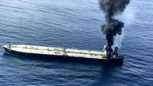 """ناقلة النفط """"نيو دايموند"""" قابلة سواحل سريلانكا في 03 أيلول/سبتمبر 2020"""