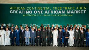 Quarante-quatre des 55 pays de l'Union africaine ont signé l'accord créant une zone de libre-échange continentale en Afrique.