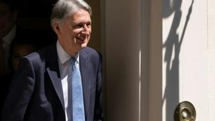 Le ministre britannique des Finances Philip Hammond, démissionnaire, le 24 juillet 2019