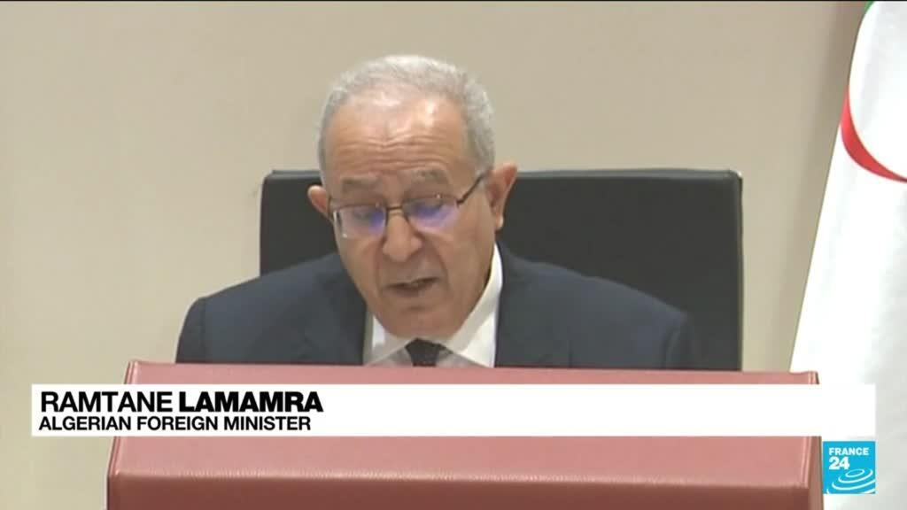2021-08-25 09:06 Foreign minister announces Algeria is breaking diplomatic ties with Morocco