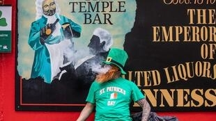 Ireland's 7,000 pubs shut their doors on the eve of St Patrick's Day, which is traditionally marked by street parades and carousing